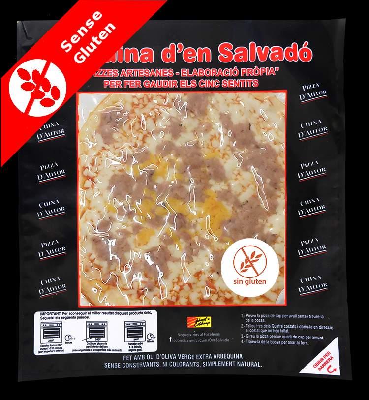 Pizza de tonyina Sense Gluten
